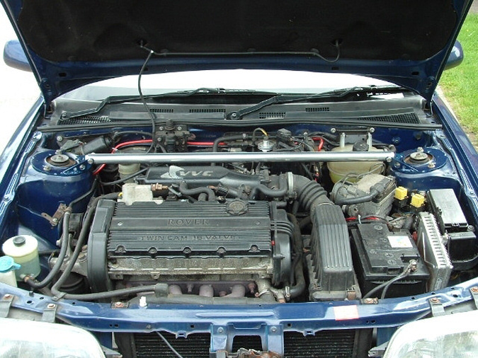 VVC engine bay.
